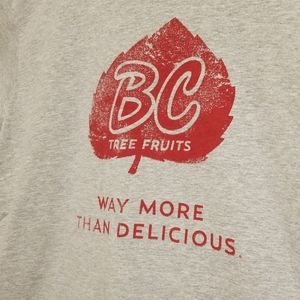 American Apparel Shirts - American Apparel BC Tree Fruits t-shirt